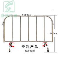 活动脚不锈钢铁马(优质钢材,免安装,更方便)